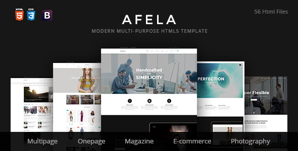 A-ha Shop | Minimal Elegant eCommerce HTML Template - 5
