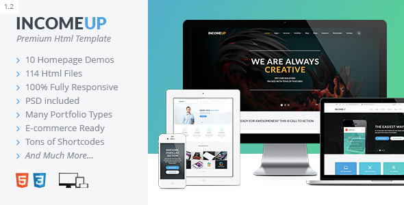 Amadea | Multi-Concept E-commerce PSD Template
