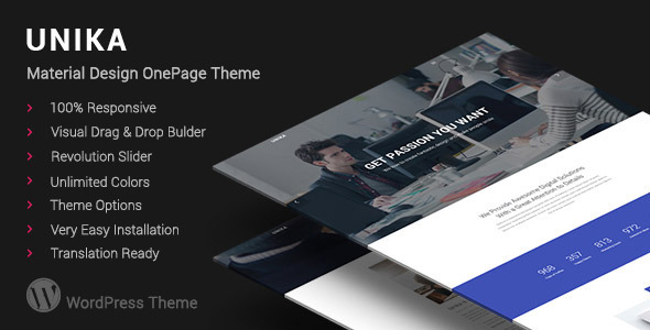 Enigma -  Minimal Multi-Purpose WordPress Theme
