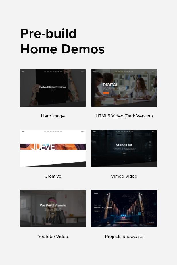 Jueve | Creative Agency Onepage HTML Template