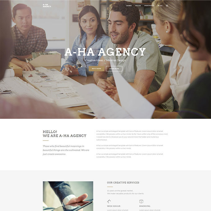 Aha-Agency-Free-Minimal-HTML-Template_post_preview