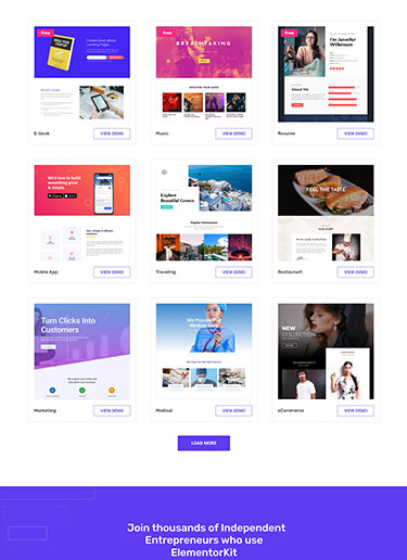 ElementorKit-Premium-Collection-of-Landing-Pages-front