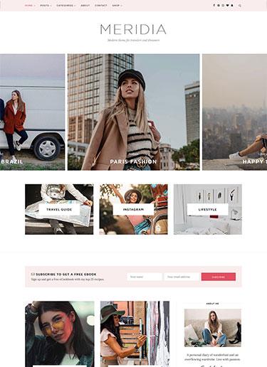 Meridia-Minimal-Lifestyle-Blog-WordPress-Theme-Preview-front-min