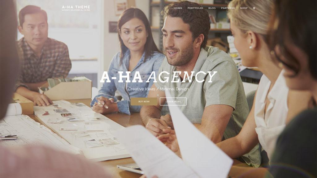 Aha-Agency-HTML-Single