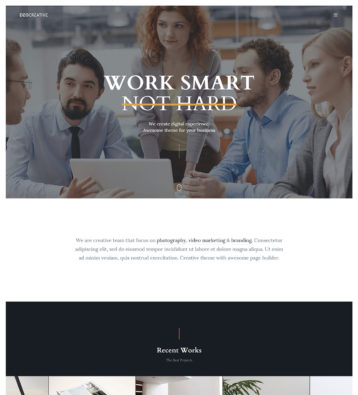 DeoCreative---Free-Minimal-Onepage-HTML-Template