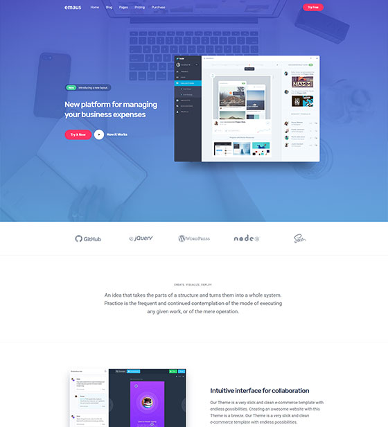 Emaus-SaaS-App-and-SEO-Elementor-WordPress-Theme-preview-back