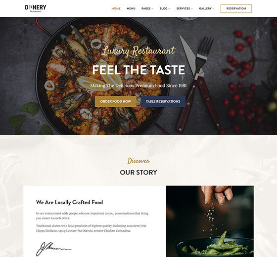 dinery_food_ordering_restaurant_wordpress_theme​_theme_preview