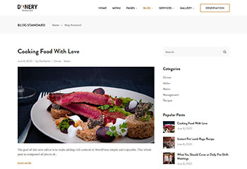 dinery_wordpress_theme_feature_blog_layouts