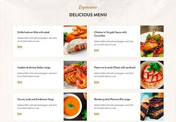 dinery_wordpress_theme_menu