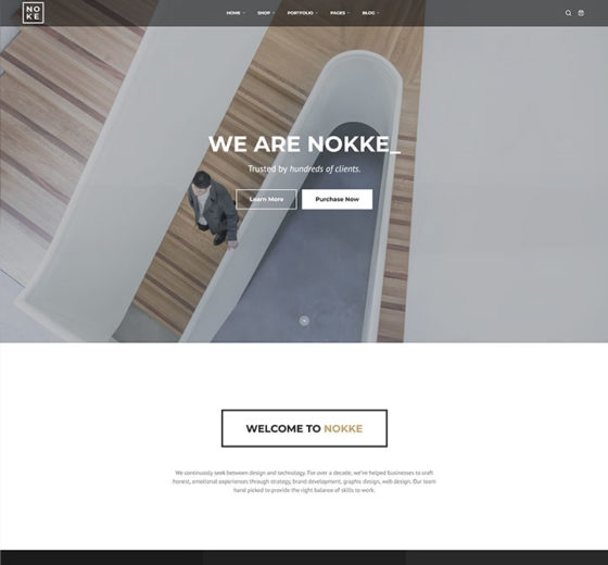 Nokke_Minimal_Agency_Elementor_WordPress_Theme_preview